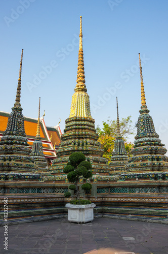 Wat Pho at Bangkok Poster