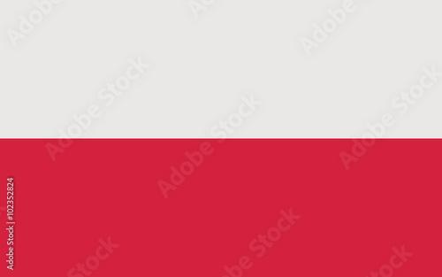 Obraz na płótnie flaga Polski