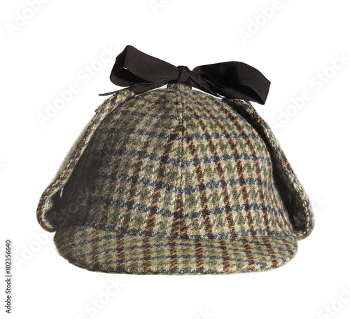 Fotografía  Sherlock Holmes Hat