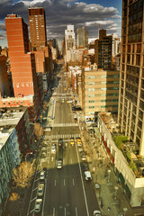 Fototapeta Nowy York NYC streets.