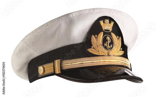 Fotografía Hat naval officer profile