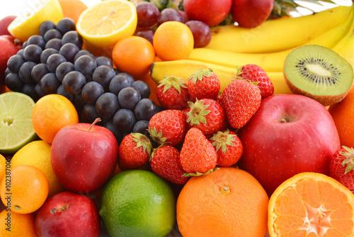 Spoed Foto op Canvas Vruchten 新鮮な果物