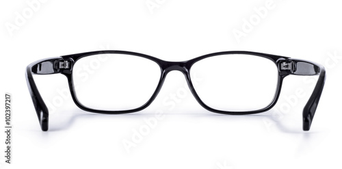 glasses on a white background Fototapeta
