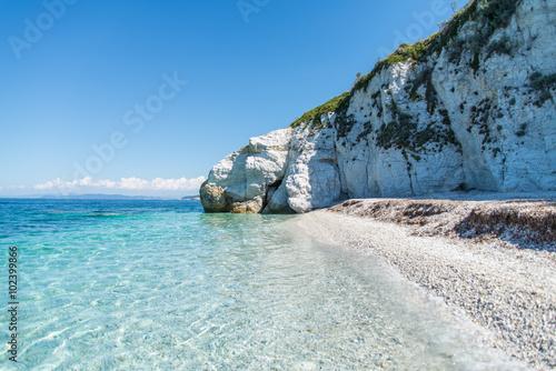 Fotomural Capo Bianco beach Portoferraio - Elba Island - Tuscany - Italy