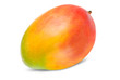 canvas print picture - Mango isolated on white