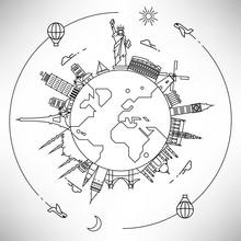 Linear World Landmarks