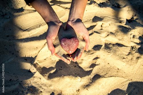 Photo Herz in Händen