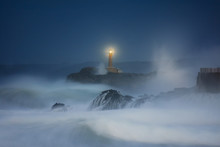 Mouro Lighthouse In Santander ...