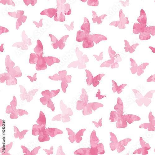 bezszwowe-akwarela-rozowe-motyle-wzor