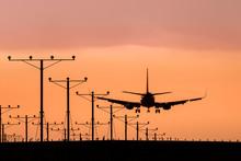 Jet Landing Or Taking Off