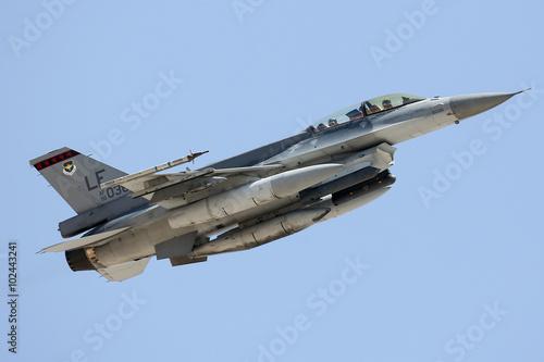 fototapeta na szkło United States Air Force F-16