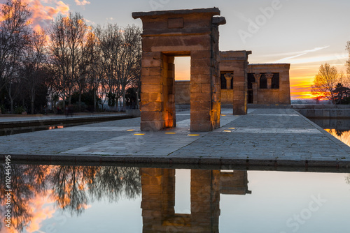 Photo Templo de Debod, Madrid (España)