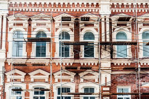 Restoration of old building Fototapeta