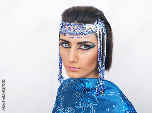 Poster Gypsy woman with egyptian look