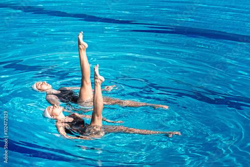Photo  Synchronized swimming