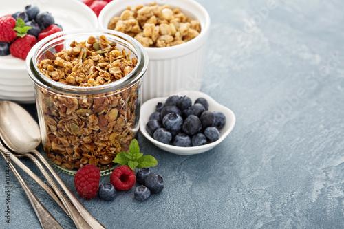 Fotografie, Obraz  Breakfast items on the table