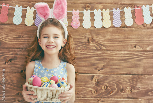 Photo  girl wearing bunny ears