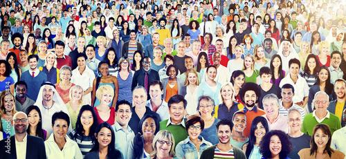 Fotografía  Diversity Large Group of People Multiethnic Concept
