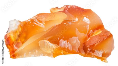 carnelian (cornelian, sard) crystalline gemstone Tapéta, Fotótapéta