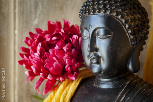 Statue Bouddha Tapéta, Fotótapéta