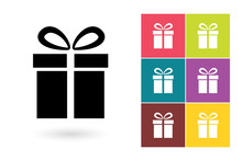 Gift Vector Icon Or Gift Symbo...