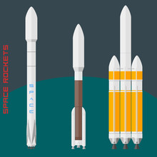 American Space Rockets Set