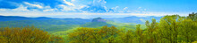 180 Degree Panoramic Of Great Smoky Mountains