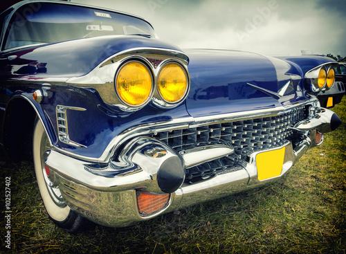 Old classic american car