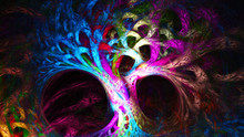 Abstract Image. Mysterious Psy...