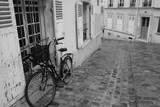 Fototapeta Fototapety Paryż - Uliczka na Montmartrze, Paryż