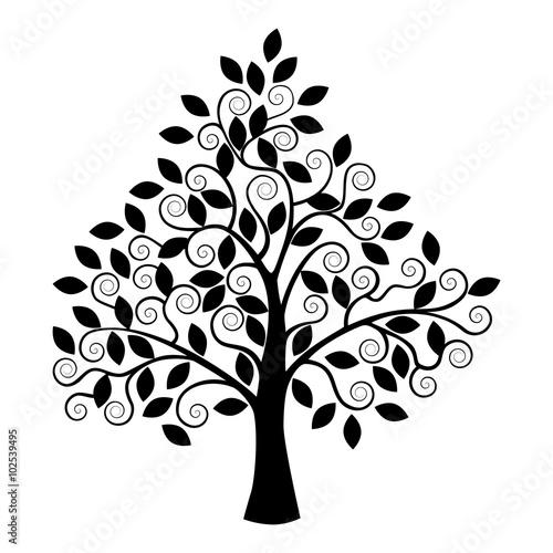 stylizowane-czarne-drzewo