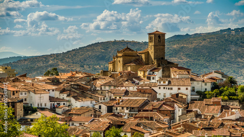 Pueblo de Hervas en Caceres, España.