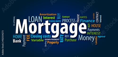 Fototapeta Mortgage obraz