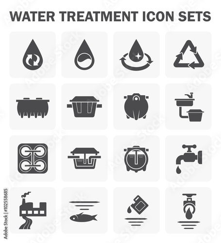 Photo  Water icon sets