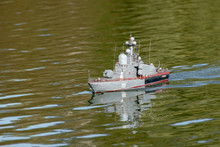 "Model Of A Large Missile Boat ""Stupinets"" (hull Number 705)"