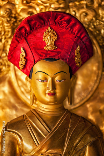 Photo  Buddha statue in Lamayuru monastery, Ladakh, India
