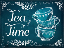 Invitation To The Tea Party. R...