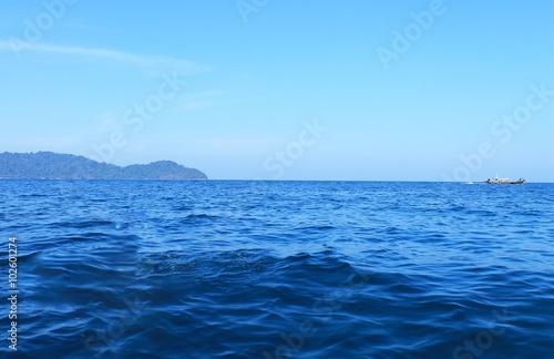 Foto op Aluminium Zee / Oceaan Blue sky and sea