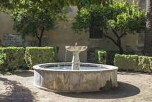 Old Stone Fountain In Cordoba - Spain