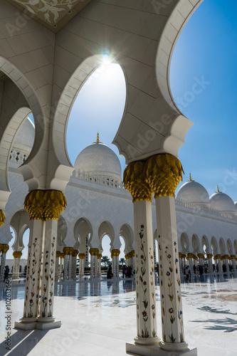 Keuken foto achterwand Abu Dhabi Grand Mosque Sheikh Al Zayed in Abu Dhabi