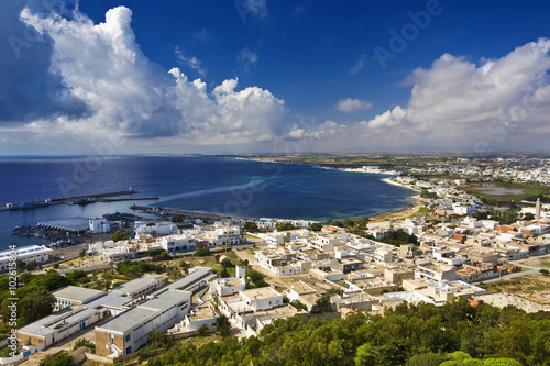 Staande foto Tunesië Tunisia. Kelibia - there is breathtaking view from the top of the Byzantine fort