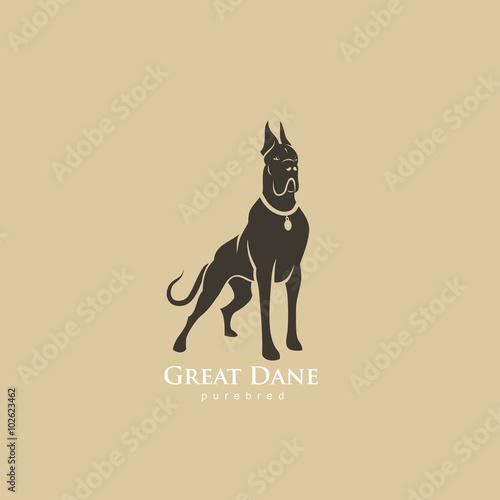 Great Dane Fototapete