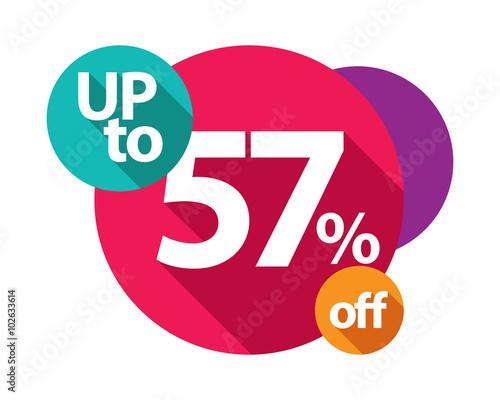 Fotografie, Obraz  up to 57% discount logo colorful circles