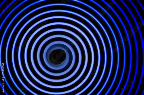 Photo  Gravitational waves simulation