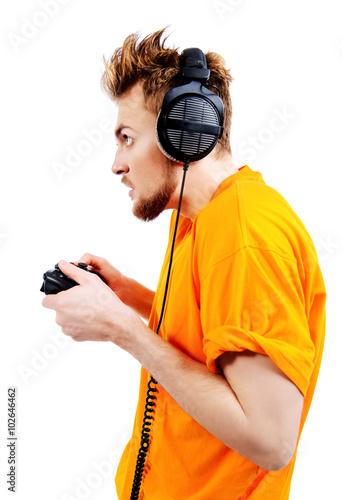 crazy gamer Poster