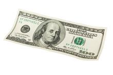 One Hundred Dollars Over White.