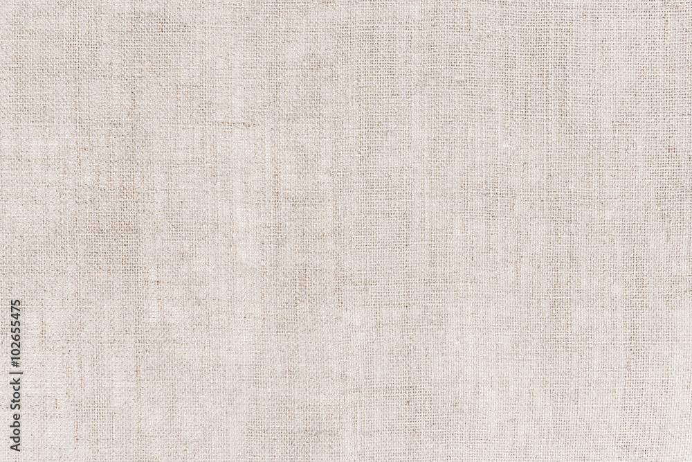 Fototapeta Natural sackcloth texture or background.
