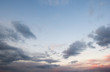 sky with clouds and sun background