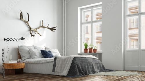 hipster schlafzimmer in berlin