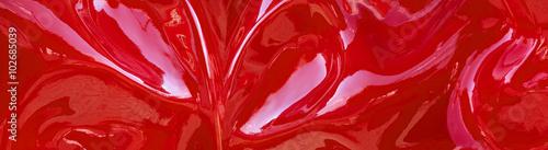 abstraktes-rotes-muster-panorama